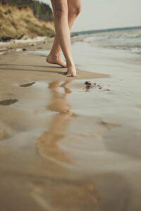 Åreknuter på føttene
